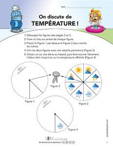 On discute de température !