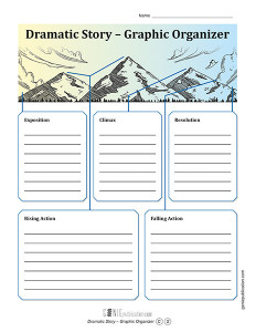 Dramatic Story – Graphic Organizer