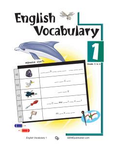 English Vocabulary 1