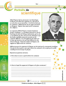 Portraits de scientifique – Alfred Wegener