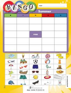 Bingo – Summer