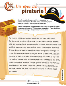 Un rêve de piraterie !